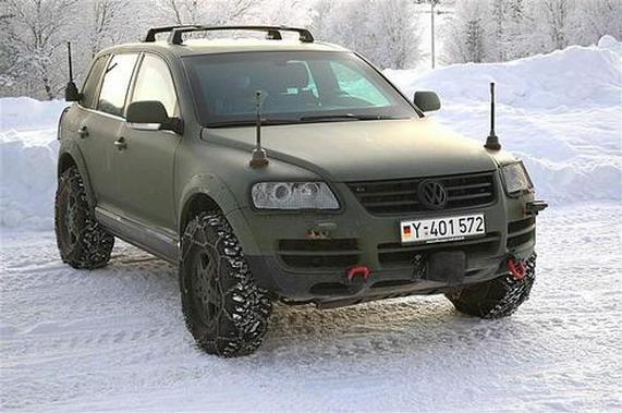 Volkswagen Touareg military